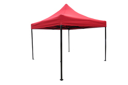 Quick Foldable Gazebo Tent - Heavy Duty - 10'x10' - Red