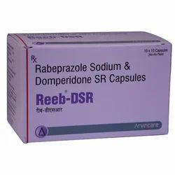 Rabeprazole Sodium And Domperidone SR Capsules