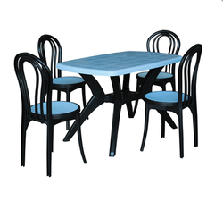 Captivating Table With Plastic Chairs