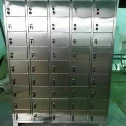 Key Lock Stainless Steel Locker, for Office