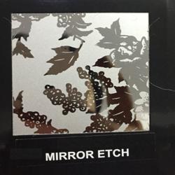 Mirror Etch Designer Sheet