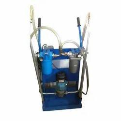 Mild Steel Portable Hydraulic Filtration Trolley, 0-50 kg