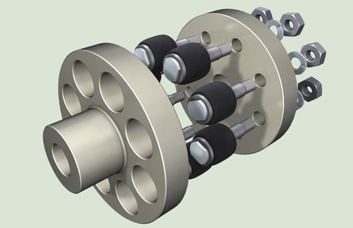 Pin & Bush Type Coupling, for Industrial