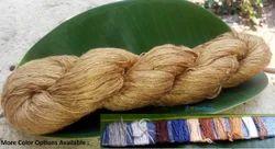 Dyed Ghicha Silk Hand Spun Yarn