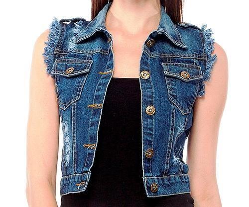 c580c6a7d2fb Ladies Rough Look Denim Summer Jacket at Rs 320  piece