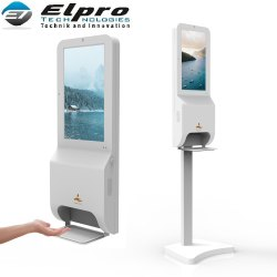 Auto Dispensing Hand Sanitizer With Media Player