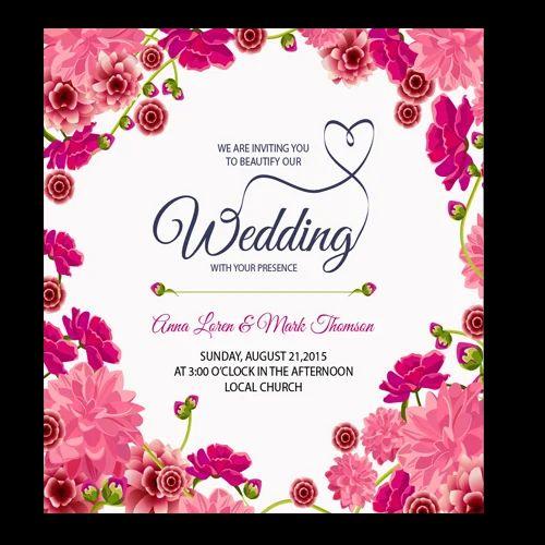 Wedding Card Floral Wedding Card Manufacturer From Hosur