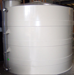 PP Spiral Chemical Reaction Vessel, Capacity: 1000-10000 L