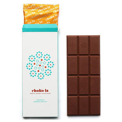 Chokola 80g Crunchy French Chocolate Bar