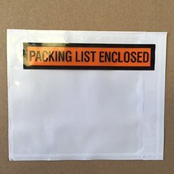 Online Shopping Packing List Envelopes