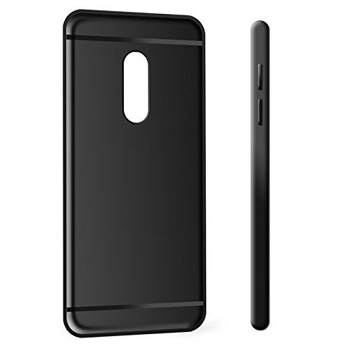 c38c1ba804 Black Matte For Xiaomi Redmi Note 5 Back Cover Candy Soft Case, Xiaomi Mi  Redmi