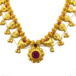 Electroplated Kolhapuri Jewellery