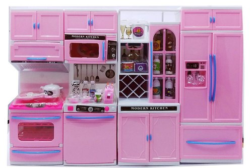 Pink Plastic Dora Kitchen Set For Kids Rs 550 Piece Hybrid Cloud Id 21096448412
