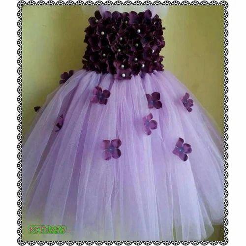 New Style Purple Kids Ball Gown At Rs 1400 Piece À¤¬ À¤² À¤— À¤‰à¤¨ Kidzoo Fashions And Costumes Hyderabad Id 14941321155