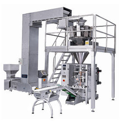 Automatic Multi Head Grocery Pouch Packing Machine