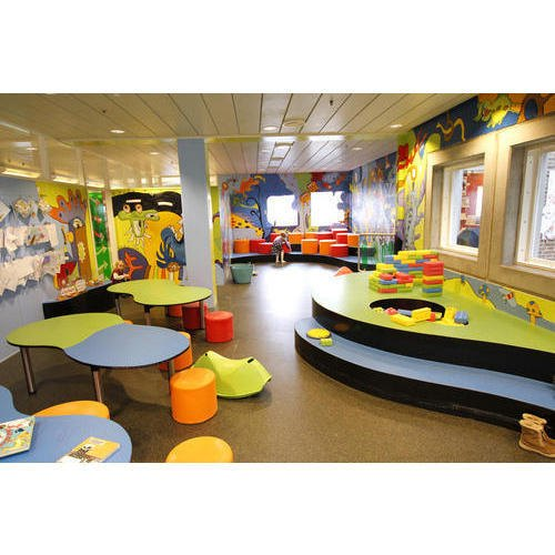 School Interior In Local Area