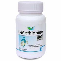 Biotrex Nutraceutical L-Methionine 500mg Capsules