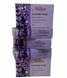 Mxofere Lavender Soap For Bathing, Packaging Size: 75 G