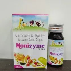 Monizyme Enzyme Drop, Packing Size: 30 ml, Packaging Type: Bottle
