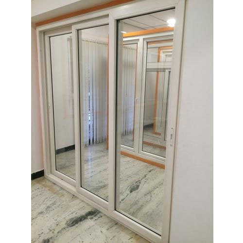 Three Track UPVC Sliding Door