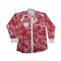 Cotton Party Wear Kids Printed Shirt
