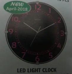 Led Light wall clock