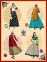 Glamour-Aradhna New Latest Stylish Designer Heavy Rayon With Ordinary Print Long Kurtis Long