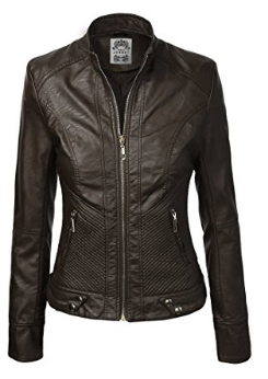 8f7f078120c6 Brown Women's Pure Leather Jacket, Rs 4500 /piece, Leather Shop ...
