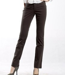 Girls Poly Viscose Formal Trousers