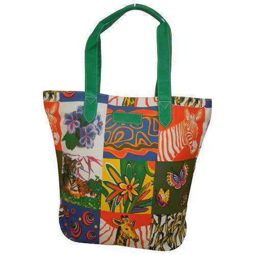 E Art Synthetic Las Canvas Handbags
