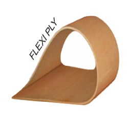 Brown Flexi Plywood, For Furniture, Size: 8 X 4 Feet