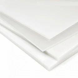 White Polypropylene Sheet, Thickness: 5mm