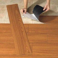 Brown PVC Flooring Carpet