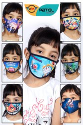 Patel Meditex Reusable Kid Face Mask, Number of Layers: One