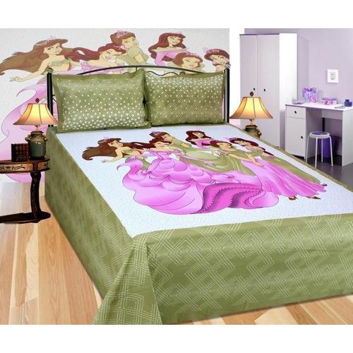 99613b6c4f9 Pure Cotton Multicolor Rajasthani Print Cotton Bed Sheet