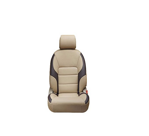 Leatherette Car Seat Cover Colour Grey Black
