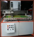 Auto Takeoff With Screen Printing Machine