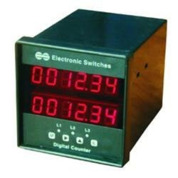 Double Display Production RPM Counters
