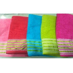 Soft Cotton Towels, Weight: 350-450 Gsm
