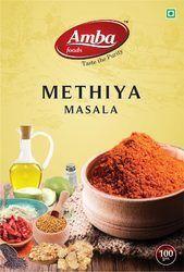 Amba Foods Methiya Masala, 100g, Packaging: Box
