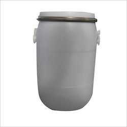 Blue HDPE Full Open Top Container, Capacity: 70L