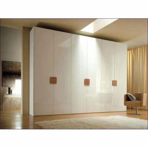 acrylic bedroom furniture brass teak wood acrylic bedroom wardrobe wardrobe rs 9300 piece sri krishna
