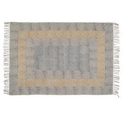 Cotton Printed Handmade Rugs India