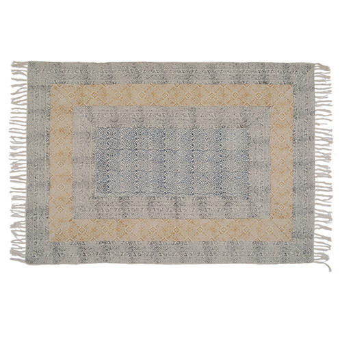 Cotton Printed Handmade Rugs