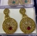 Designer Stone Indian Earrings