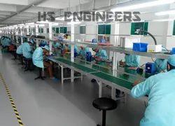 Aluminium Section Mobile Assembly Conveyor Line