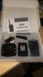 G5U Sanchar License Free Radio