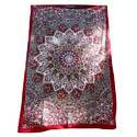 Mandala Printed Cotton Tapestry