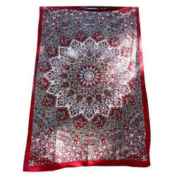 Mandala Printed Cotton Tapestry