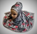 Digital Printed Scarf HIjab Dupatta Jersey Stretchable Material